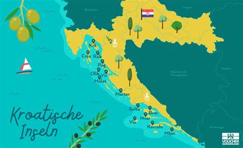 Karte Kroatien Zadar