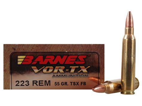 Barnes Tsx 55gr .223 Factory Ammo