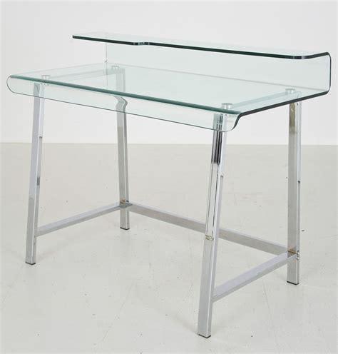 bureau design en verre bureau en verre