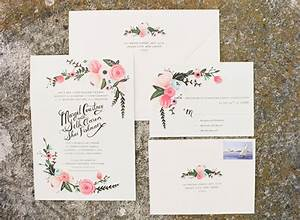 Hana floral design best wedding blog grey likes weddings for Wedding invitations with real flowers