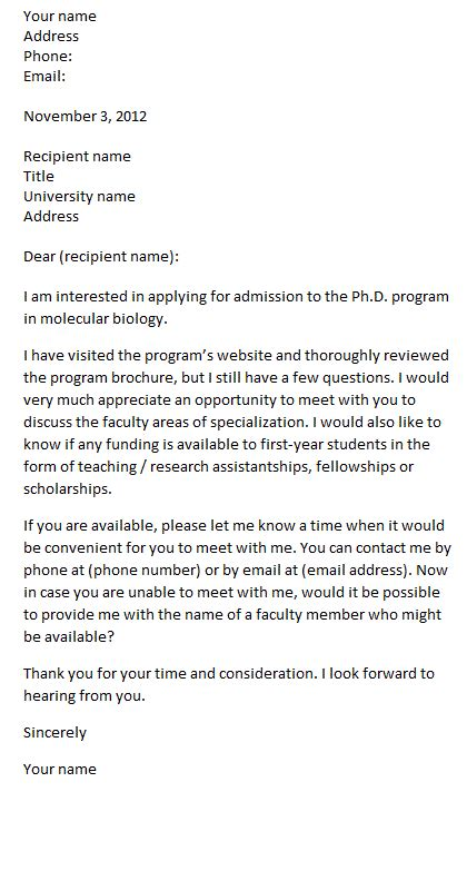 formal letter  request penn working papers
