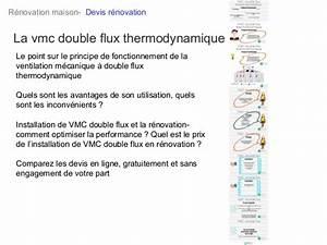 Vmc Double Flux Renovation : vmc double flux thermodynamique ~ Melissatoandfro.com Idées de Décoration
