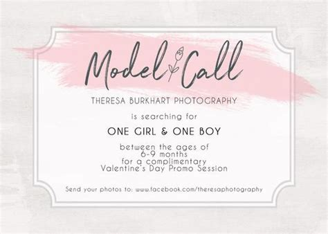 model call casting call model search photography photoshop