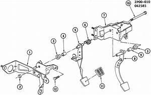 Pontiac Fiero Se 2dr Pedal  Engine Clutch