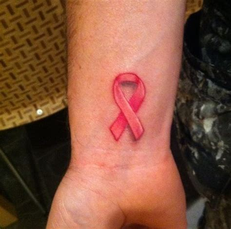 cute breast cancer tattoo designs images  pictures ideas  girls  women
