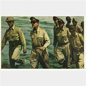 Gen Douglas MaCarthur Memorial Postcard I Shall Return ...