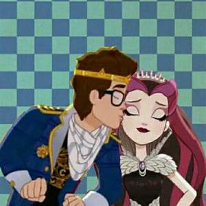 Raven queen and dexter charming kiss | ever after high ...
