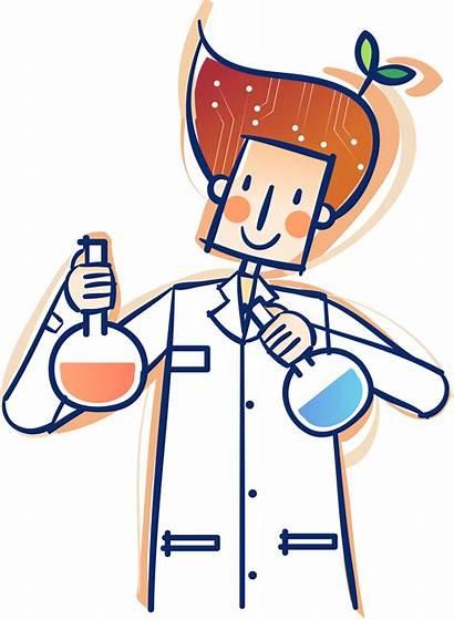 Cartoon Science Research Lab Laboratory Svg Development