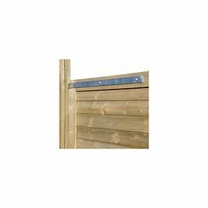 Kit quincaillerie porte de service palissade bois deck for Quincaillerie porte fenetre bois