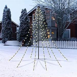 Weihnachtsbeleuchtung Für Draußen : christmaxx led lichterpyramide 2 m gr n outdoor ~ Michelbontemps.com Haus und Dekorationen