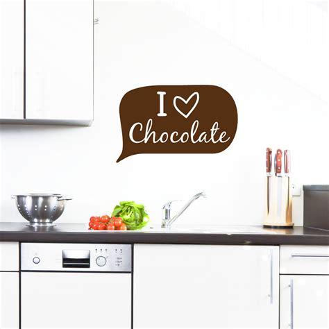 stickers pour la cuisine stickers muraux pour la cuisine sticker je aime le