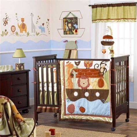 Noahs Ark Crib Bedding by Cocalo Noah And Friends Noah S Ark Crib Bedding