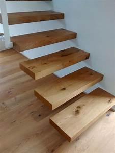 Holzgeländer Selber Bauen : die besten 17 ideen zu freitragende treppe auf pinterest ~ Lizthompson.info Haus und Dekorationen