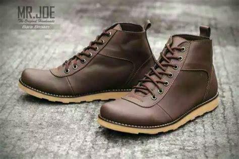 Sepatu Mr Joe Bath jual beli sepatu pria boots mr joe original brown black