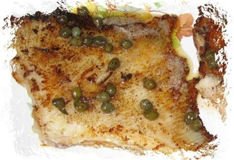 cuisiner l aile de raie recette raie au beurre noir et aux câpres facile et rapide