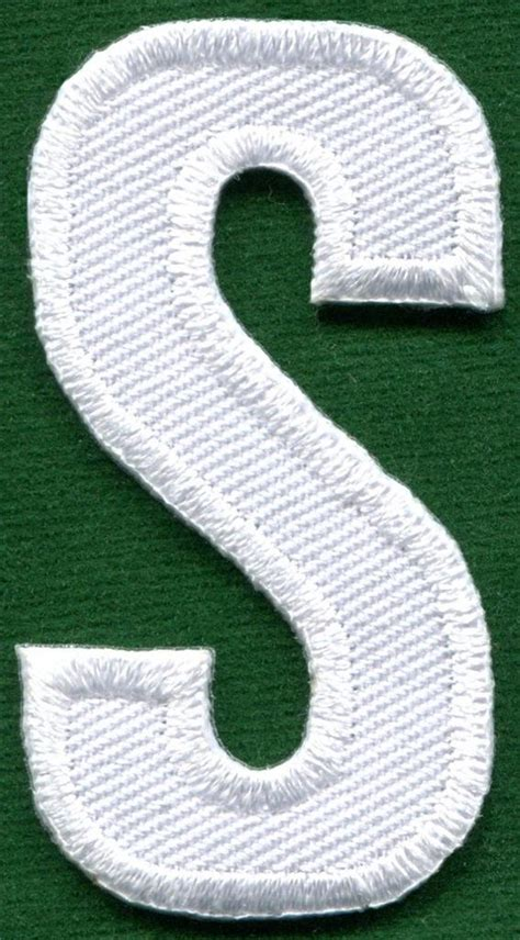 2 quot white alphabet letter iron on patch applique joyce alphabet letters white applique sew iron on patch 92330