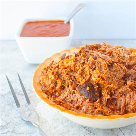 easy crockpot pulled pork recipe dishmaps