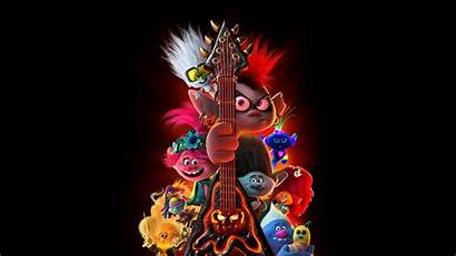 Trolls Tour 4k Guitar Wallpapers Movie Troll