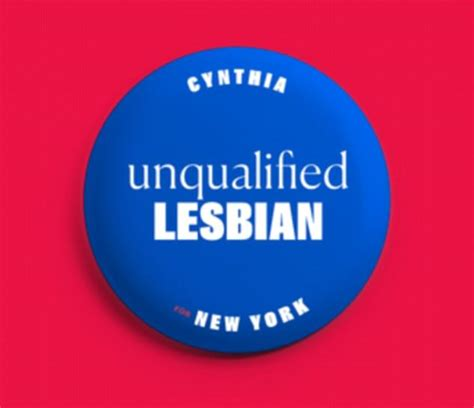 Cynthia Nixon Selling Unqualified Lesbian Buttons To