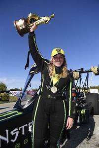 Brittany Force Makes Statement In Texas