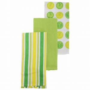 Citrus Fruit Pattern Tea Towel Set Pack Of 3 EBay
