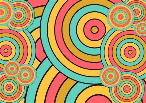 Circle Retro Color Wallpaper Hd Wallpaper Wallpaperlepi