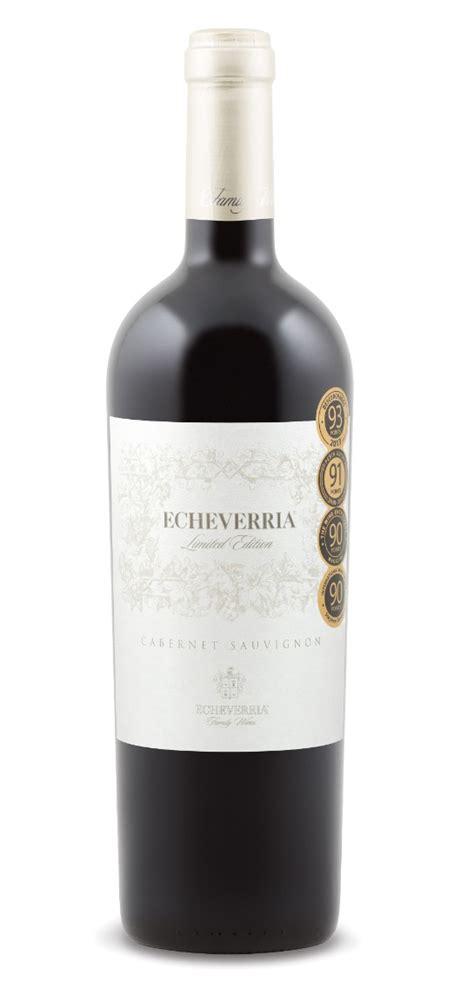 echeverria limited edition cabernet sauvignon  expert