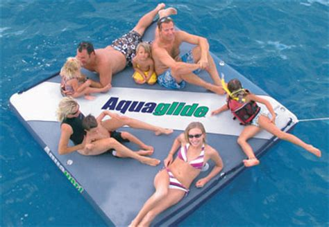 Coleman Inflatable Boat Costco by Aquaglide Airport Inflatable Private Island The Green Head