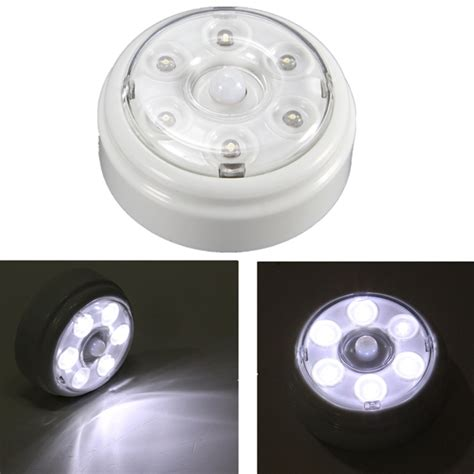 wireless pir infrared motion sensor 6 led light home