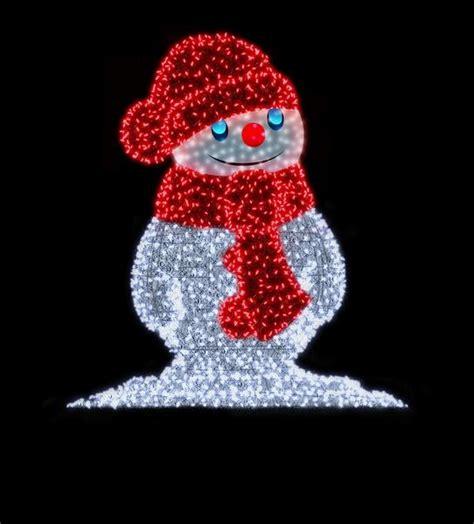 decoration noel exterieur bonhomme de neige s 233 clairer efficacement avec les led et un design