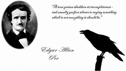 Poe Edgar Allan Quotes Allen Raven Famous
