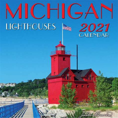 michigan lighthouses calendar penrodhiawatha