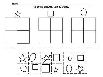 14 Best Images Of Sorting Buttons Worksheet  Sorting By Size Shape And Color Worksheets