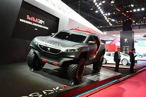 Salon De L Automobile 2015 Paris : peugeot 2008 dkr le dakar au salon de l 39 auto de paris l 39 argus ~ Medecine-chirurgie-esthetiques.com Avis de Voitures