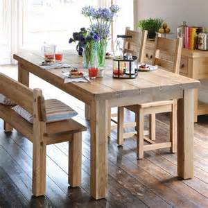 Wooden Dining Room Tables with Benches