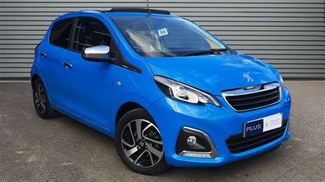 used peugeot 108 automatic used peugeot 108 convertible 1 2 puretech allure top 5dr