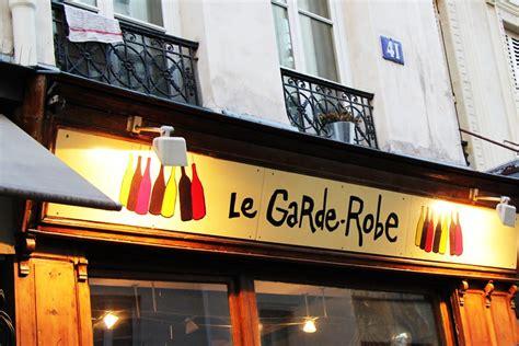 Bar Le Garde Robe by 10 Bars 224 Vin Dans