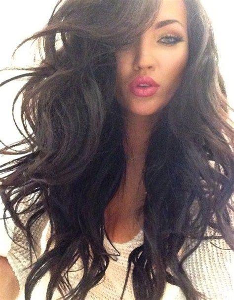 hair styles best 25 big wavy hair ideas on big waves 8690