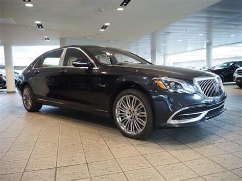Once ensconced in its reclining, ventilated, massaging seats, you survey the world from an elevated vantage. New 2020 Mercedes-Benz S-Class Maybach S 650 Sedan in Las ...