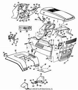 Mtd 14ap849p131  1997  Parts Diagram For Grille  Dash