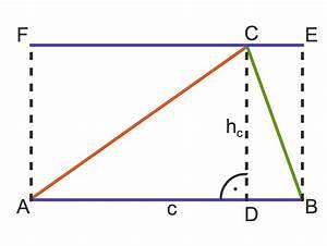 Umfang Eines Dreiecks Berechnen : fl cheninhalt und umfang von dreiecken mathematik online ~ Themetempest.com Abrechnung