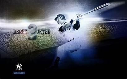 Jeter Derek Yankees Wallpapers York Desktop Background