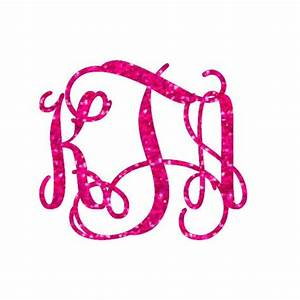 glitter monogram iron on monogram iron on transfer iron With glitter transfer letters