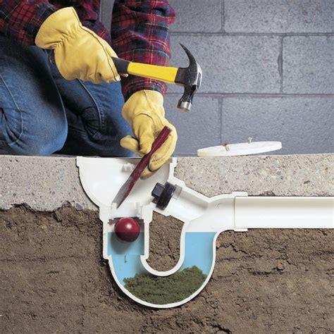 unclog  unclog drain basement flooring