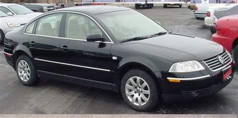 2001 Volkswagen New Passat Used Car Pricing, Financing And