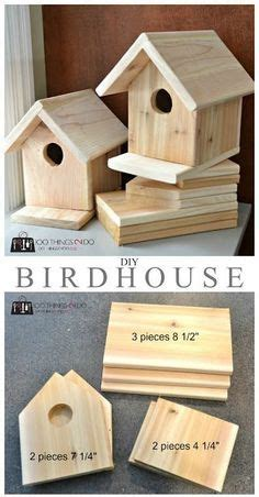 diy birdhouse bird houses diy woodworking projects diy