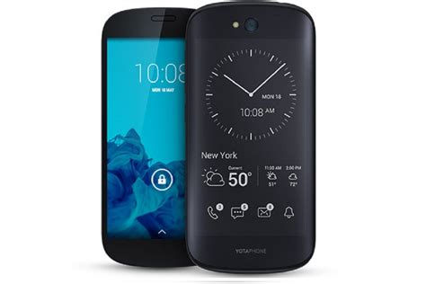 dual screen smartphone yotaphone 2 world s dual screen smartphone