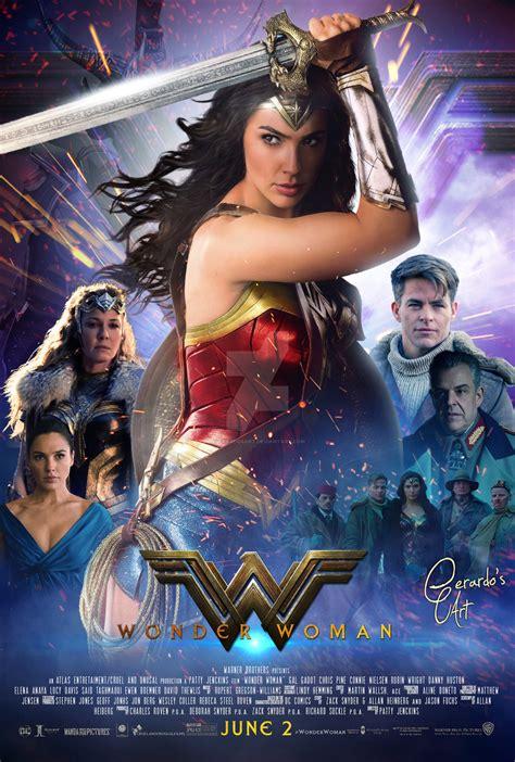 Wonder Woman  Final Poster By Gerardosart On Deviantart