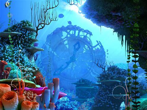 Unduh 410 Koleksi Background Animasi Bawah Laut Paling