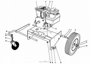 Toro Professional 62912  5 Hp Lawn Vacuum  1980  Sn